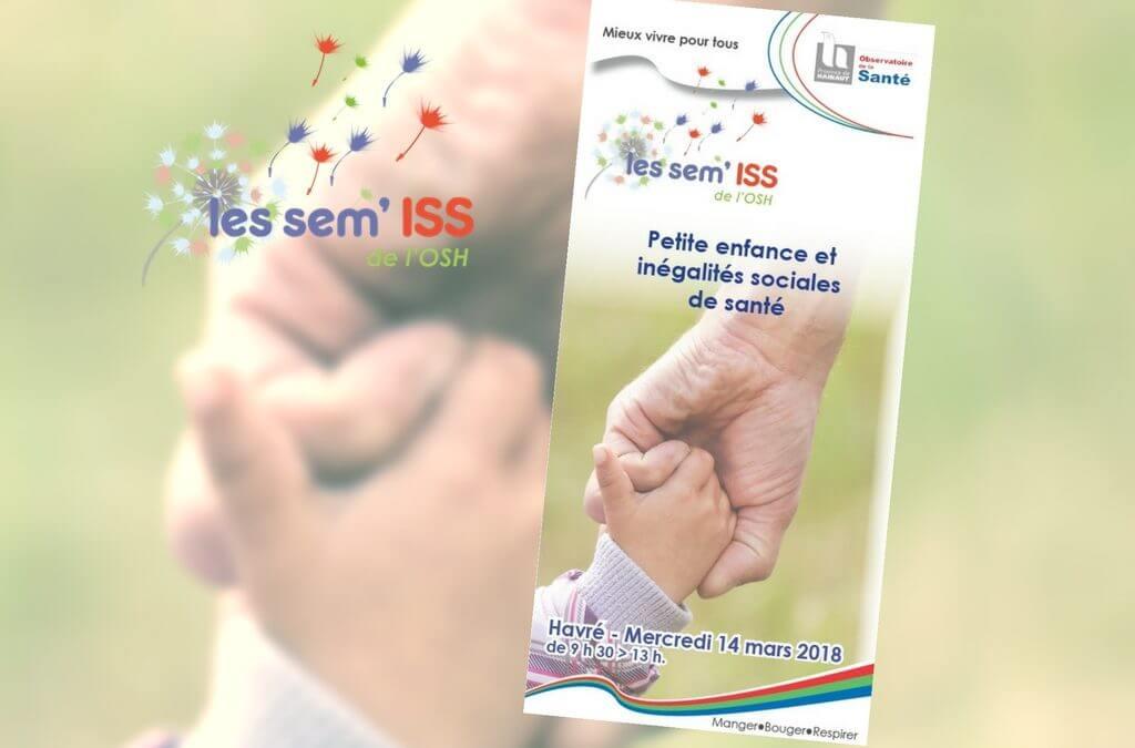 Les sem'ISS de l'OSH : Petite enfance et inégalités sociales de santé