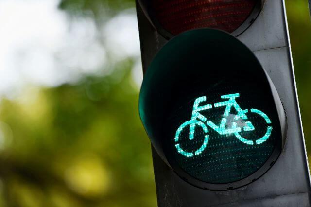 Au boulot à vélo !